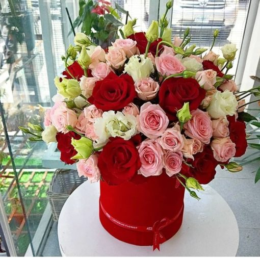 Blooms of Love - Valentines roses - red rose - Lovebug Florist